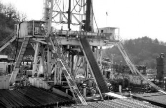铜川首口天然气探井开钻