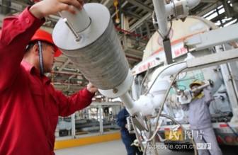 江苏LNG接收站投产八年 累计外输天然气368亿立方米