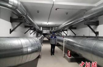 甘肃白银成为国内首个天然气入地下管廊并运营的城市