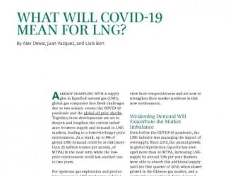 对液化天然气(LNG)行业而言新冠疫情意味着什么?(强烈推荐,全文翻译,文末含下载地址)