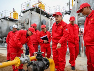 跨省引得瑞气来!长庆油田采油五厂首条天然气引入管线正式投运